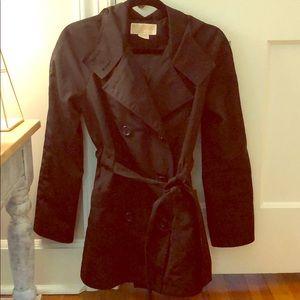 Michael Kors black trench raincoat - XS